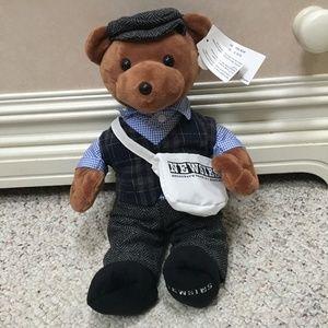 Disney Broadway Newsies Musical plush teddy bear
